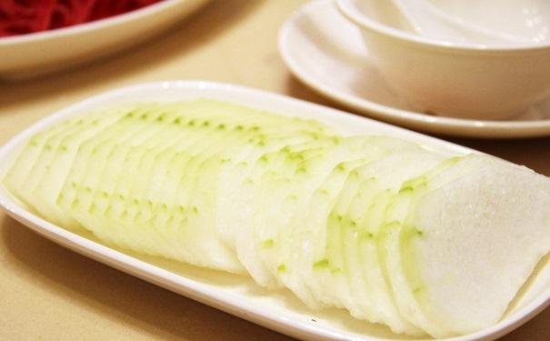 生冬瓜汁的功效与作用 东瓜的基本详细介绍